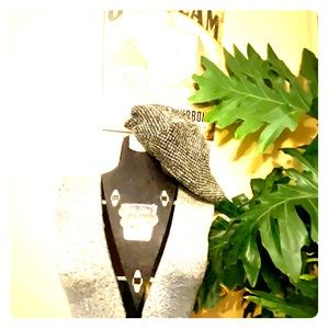 Marled Sweater Knit Driving Cap